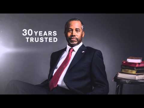 "Ben Carson 2016 - ""We Can Trust Ben Carson to Keep Us Safe and Secure"""