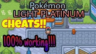 Pokemon light platinum cheats rare candy android