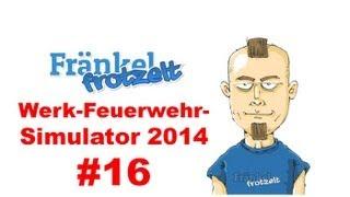 Let's play Werk-Feuerwehr-Simulator 2014 #16 - Kontrolle im Tamponkönigreich
