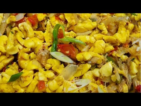 HOW TO COOK ACKEE AND SALTFISH JAMAICAN RECIPE