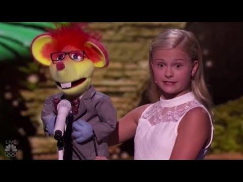 Darci Lynne's New Singing Puppet Has a Romantic CRUSH on Mel B | America's Got Talent 2017