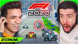 LANDO NORRIS Tried To Take Me Out At The BAHRAIN GP... (F1 2020 #2)