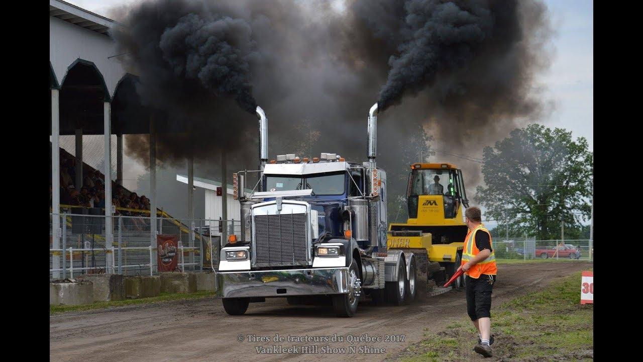 Tire For Less >> Semi Truck Pulls @ Vankleek Hill Fair 2017 by ASTTQ - YouTube
