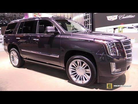 2015 Cadillac Escalade Platinum - Exterior and Interior Walkaround - 2015 New ...