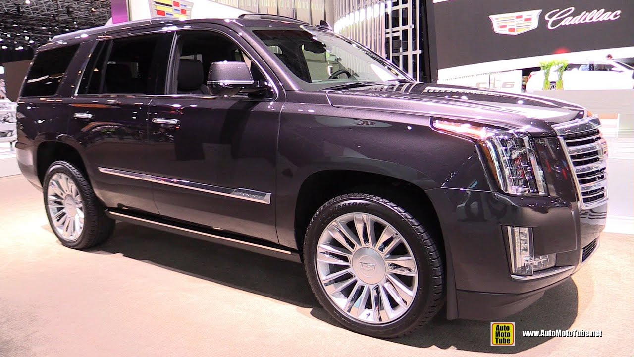 2015 cadillac escalade platinum exterior and interior walkaround 2015 new york auto show. Black Bedroom Furniture Sets. Home Design Ideas