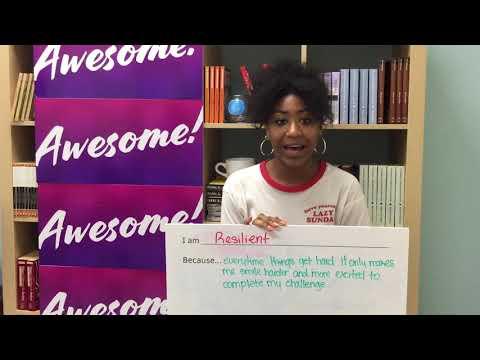 South Brooklyn Community High School - I Am Awesome Campaign