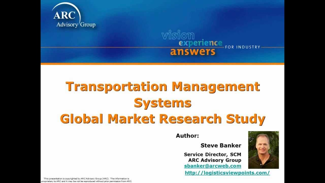Transportation Management Systems Global Market Research