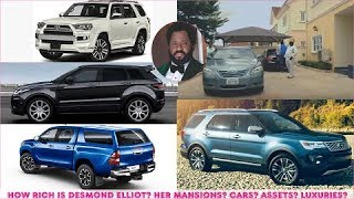 How Rich is Desmond Elliot  All His Mansions Cars Companies Luxuries amp Assets