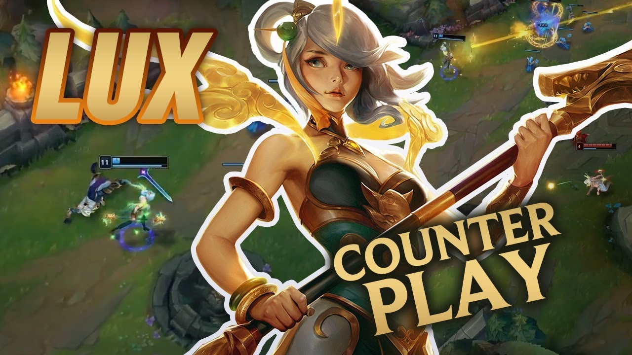 How to Counter Lux: Mobalytics Counterplay - YouTube
