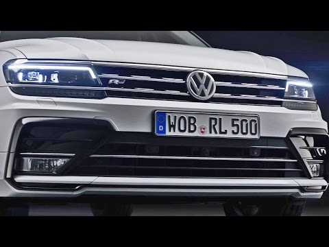 ► 2016 VW Tiguan R-Line - Interior and Exterior Design