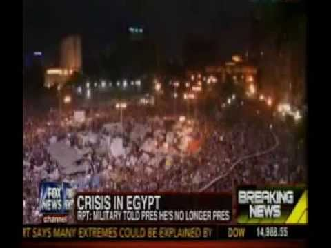 Breaking: Egyptian Military Removes President Morsi and Suspends Constitution