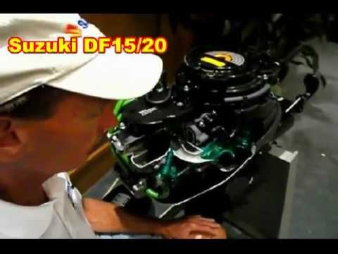 Suzuki DF15 hp and Suzuki DF20 hp Outboard Engines or Motors - YouTube
