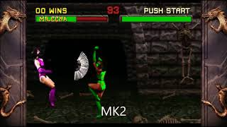 Mortal Kombat: Jade evolução 2 até o 11