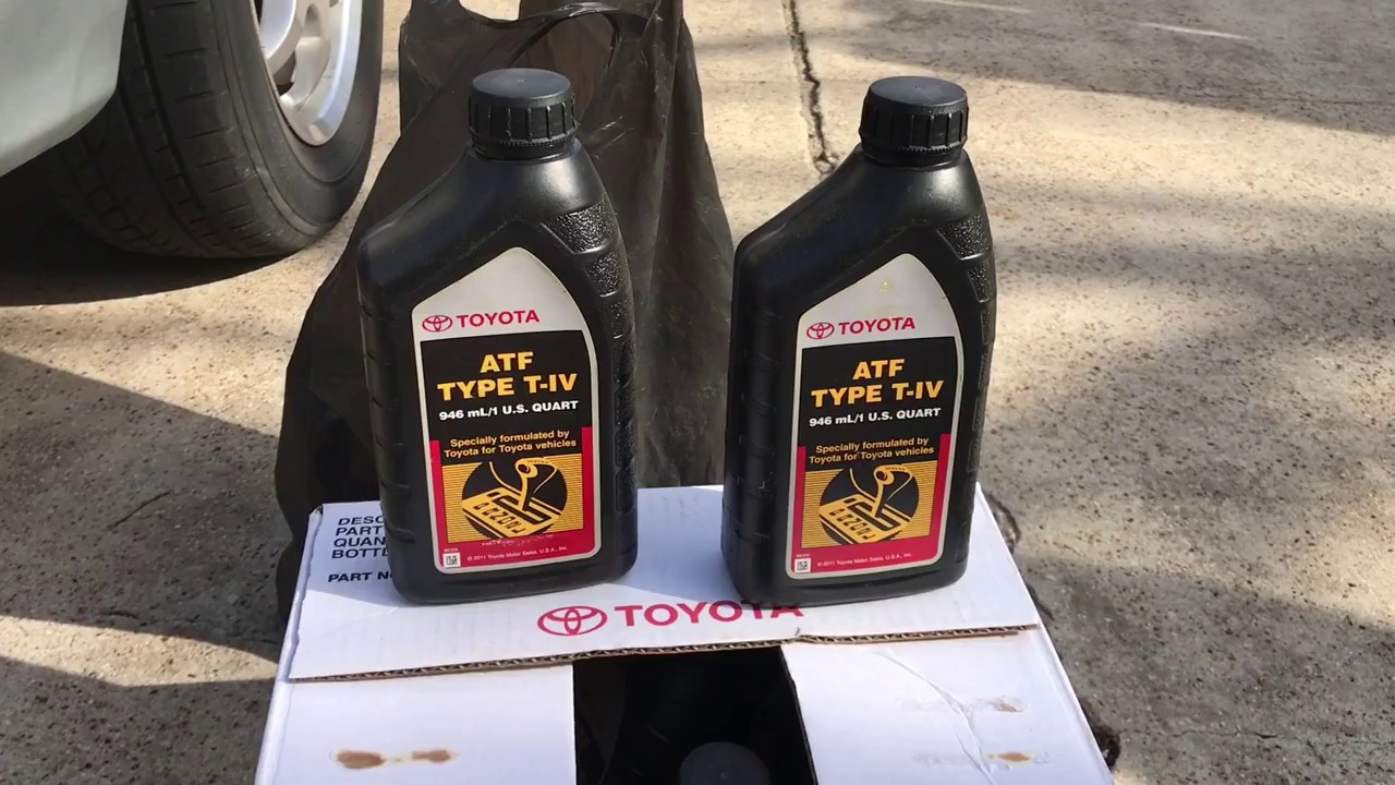 Flush Transmission Fluid On 2002 Toyota Sienna Youtube