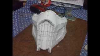 NoobSaibot mask - Papercraft
