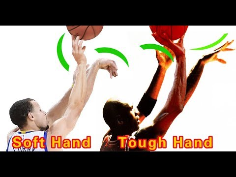 Stephen Curry & Michael Jordan Soft Hand & Tough Hand Shooting Form Analytics Full Version