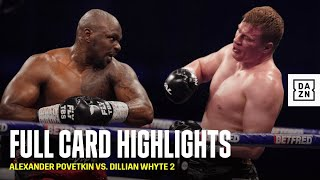 FULL CARD HIGHLIGHTS | Povetkin vs. Whyte 2