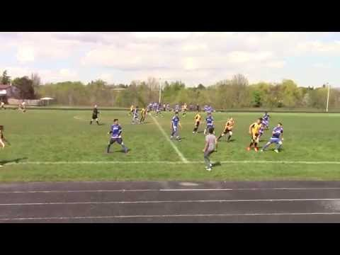 Milton District High School vs Garth Webb High School - 17-05-16