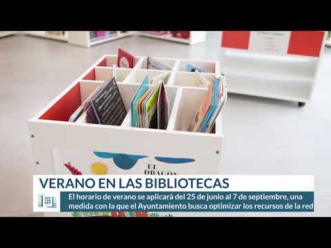 Horario de verano en las bibliotecas de Santander