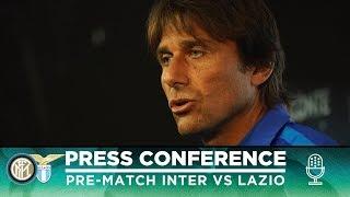 INTER vs LAZIO | Antonio Conte Pre-Match Press Conference LIVE 🎙⚫🔵 [SUB ENG]