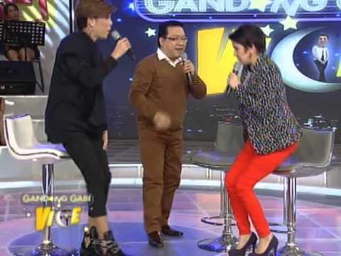 Amy, Roderick shows dance moves on GGV