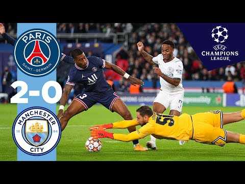 PSG Manchester City Goals And Highlights