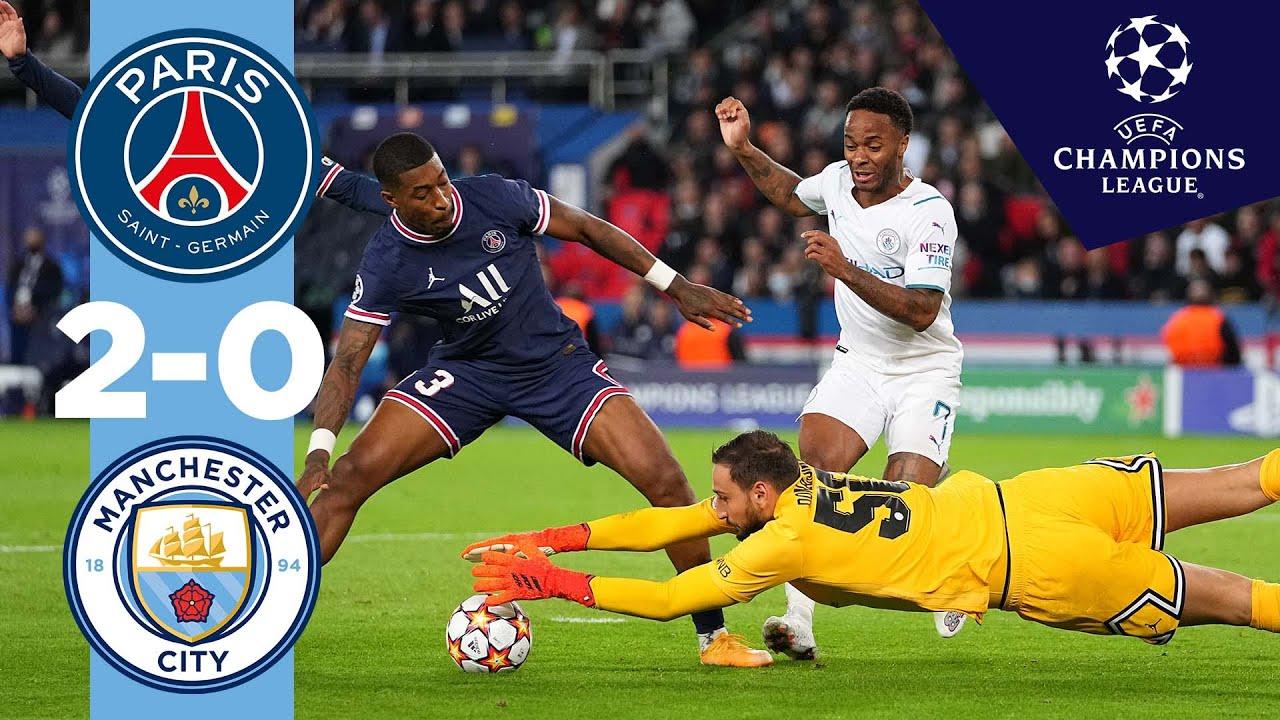 Man City Highlights | PSG 2-0 MAN CITY | Champions League