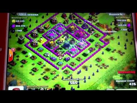 Clash Of Clans - 2 million loot using tier 1 troops