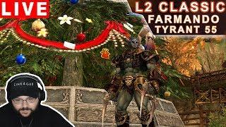Lineage 2 Classic NA - Farmando em EV com Orc Tyrant Gameplay