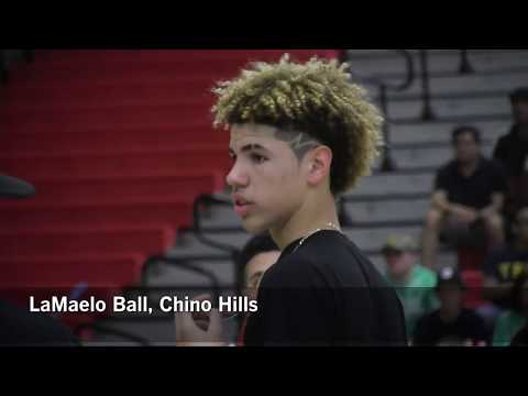 LiAngelo And LeMelo Ball Chino Hills High March 2017| Los Angeles Times