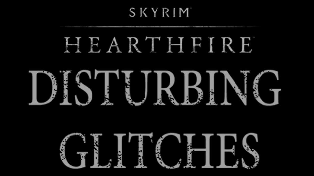 naked childrren Skyrim Hearthfire glitches - Disturbing Naked Children! (HD)