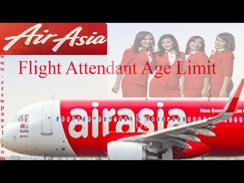 Air Asia cabin crew age limit | cabin crew minimum age requirement in Air Asia