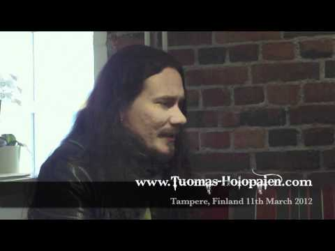 Tuomas Holopainen Interview - Tampere