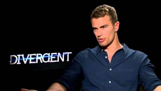 Divergent Star Theo James Talks Chemistry With Shailene Woodley