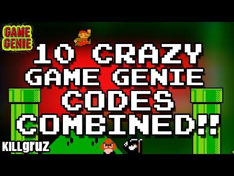Super Mario Game Genie Code Cocktail - Killgruz