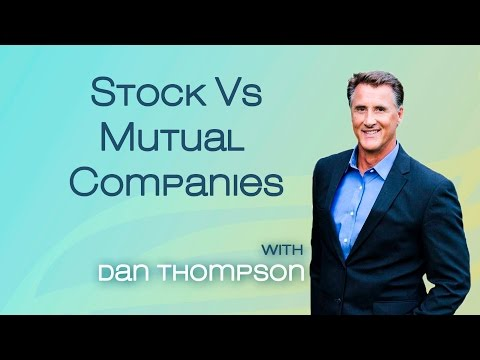Mutual Vs Stock Life Insurance Companies - Whole Life Insurance Dividends - Infinite Banking FAQ