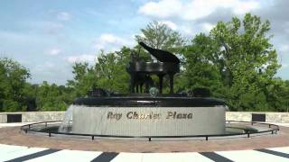 22. Ray Charles birth place monument Albany Georgia