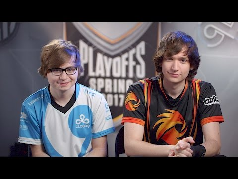 NA LCS Spring Semifinals: Sneaky and Meteos