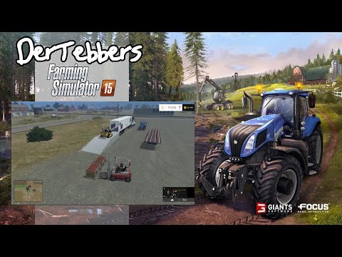 Farming Simulator 15 - California Life - 007 - Cherry Unload and Delivery