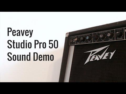 Blistering Rock Tones On A Budget! 1980s Peavey Studio Pro 50 112 Combo Sound Demo