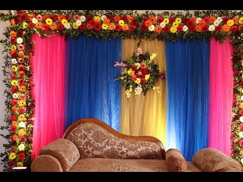 rajib-wedding-stage-decoration-idea-wedding-stage-setup-video-2020