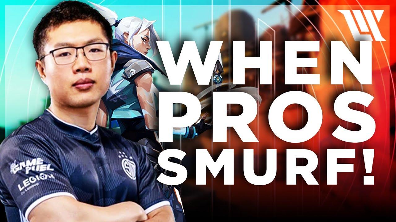 Download WHEN PRO'S SMURF IN VALORANT!   TSM WARDELL