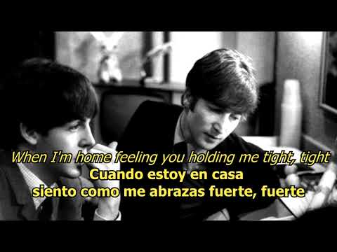 A hard day's night  - The Beatles (LYRICS/LETRA) [Original] Mp3