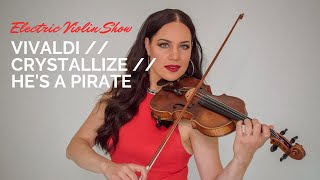 Vivaldi / Crystallize / He's A Pirate // Electric Violinist Lotta Virkkunen