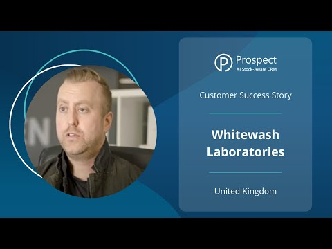 WhiteWash Laboratories experience tremendous growth with Prospect CRM & Unleashed
