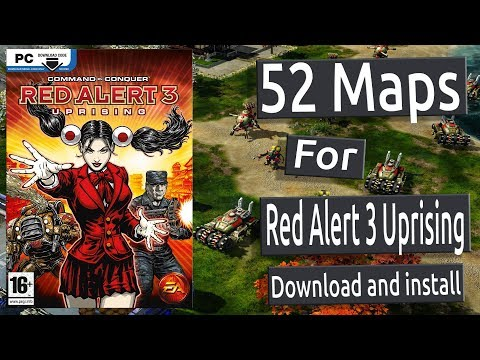 52 MAPS For CC Red Alert 3 Uprising (download And Install For Free)