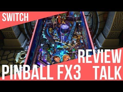 REVIEW TALK   Pinball FX3 (Switch)