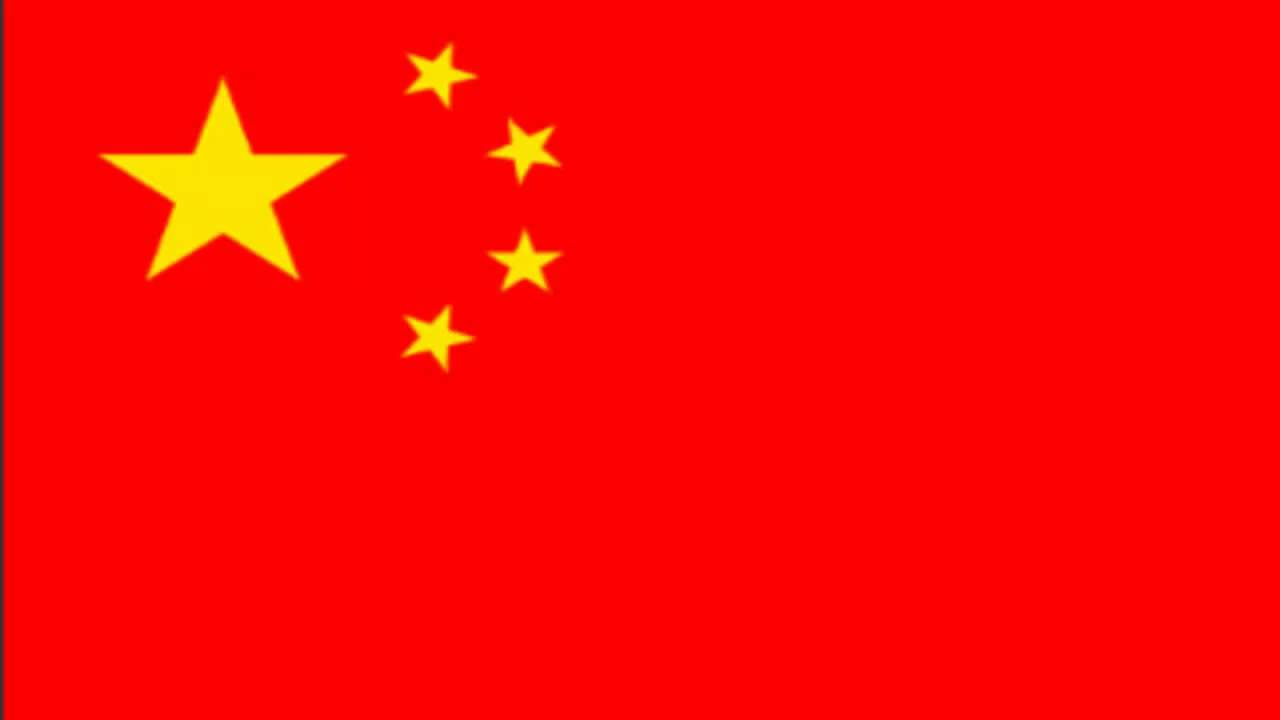 china flag and anthem youtube