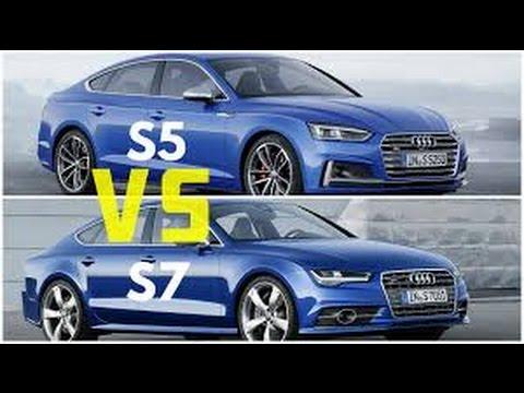 2017 Audi Rs5 Coupe Vs Audi Rs7 Sportback Performance 2017 Youtube