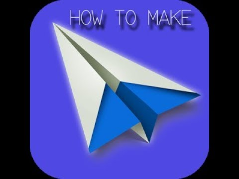 Download How to make a paper Aeroplane - Creative Craft
